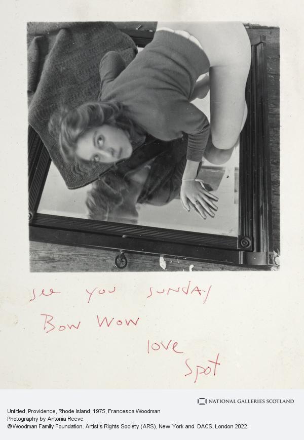 Francesca Woodman, Untitled, 1975-1980 (1975-1980)