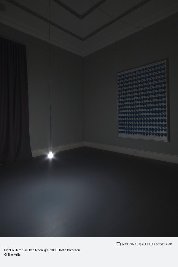 Katie Paterson, Light bulb to Simulate Moonlight