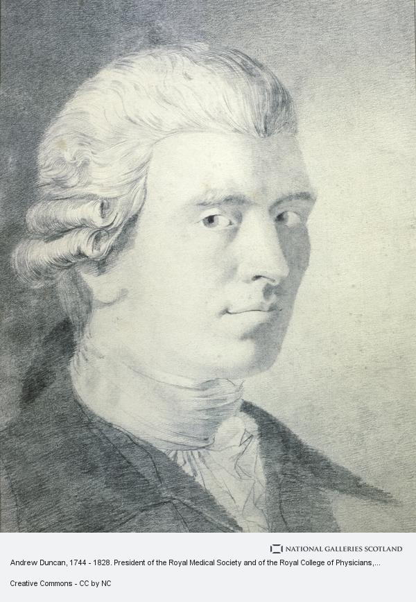 John Brown, Andrew Duncan, 1744 - 1828. President of the Royal Medical Society and of the Royal College of Physicians