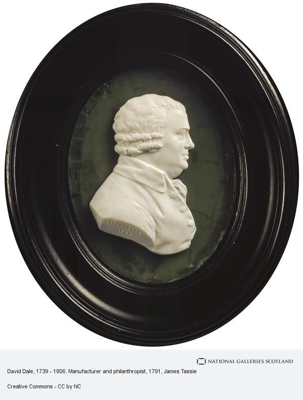 James Tassie, David Dale, 1739 - 1806. Manufacturer and philanthropist