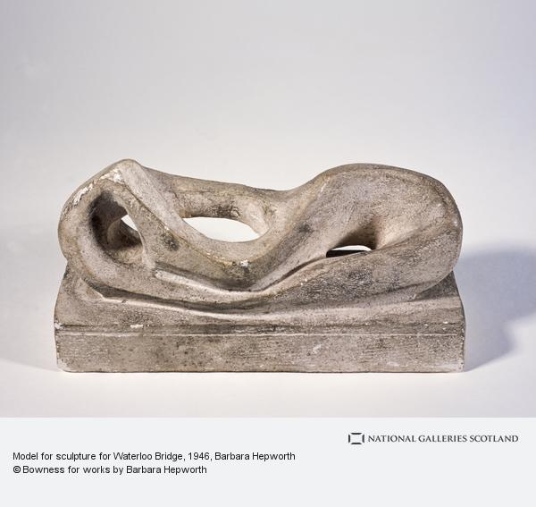 Dame Barbara Hepworth, Model for sculpture for Waterloo Bridge