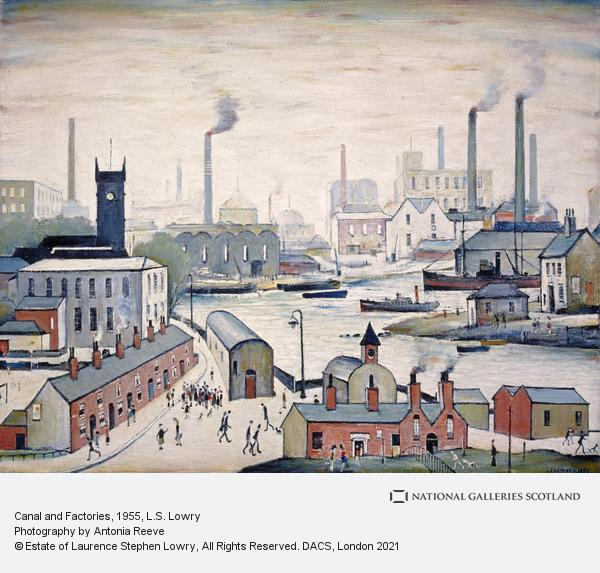 Laurence Stephen Lowry, Canal and Factories