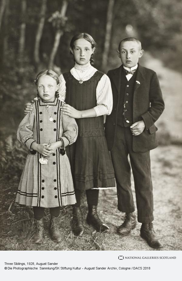 August Sander, Three Siblings, c.1928-30 (about 1928 - 1930)