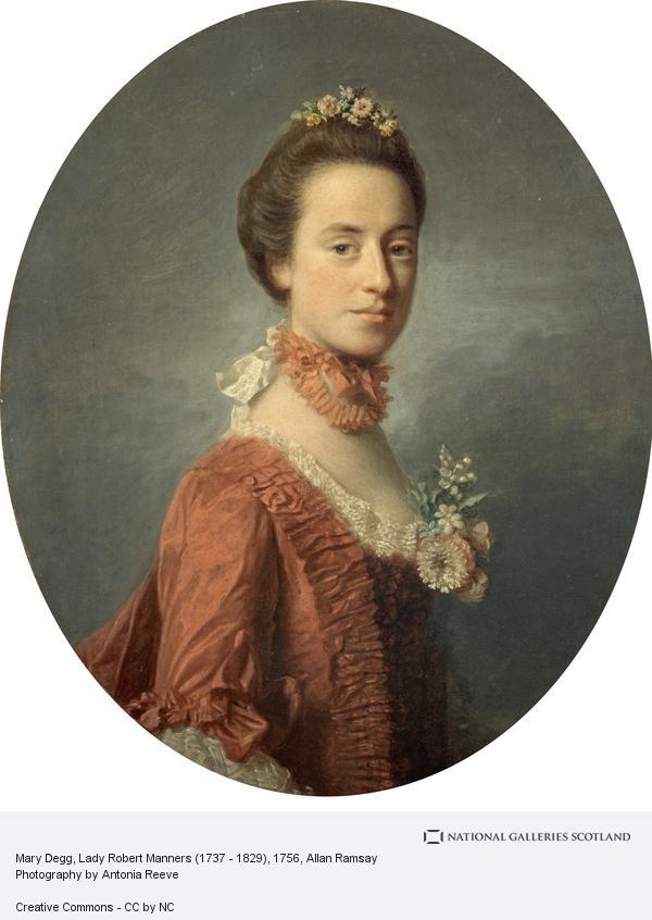 Allan Ramsay, Mary Degg, Lady Robert Manners (1737 - 1829)