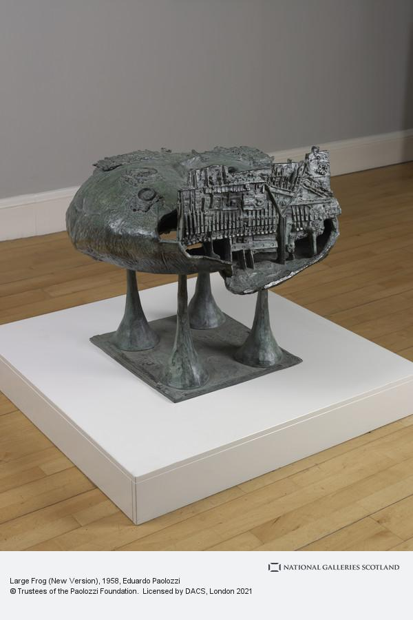 Eduardo Paolozzi, Large Frog (New Version)