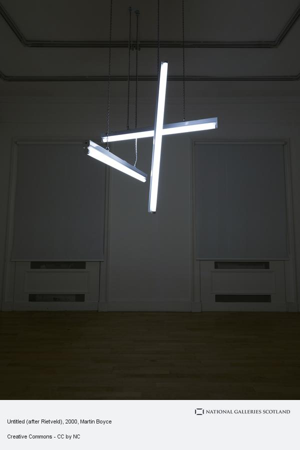 Martin Boyce, Untitled (after Rietveld)