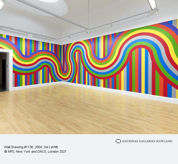 Sol LeWitt, Wall Drawing #1136