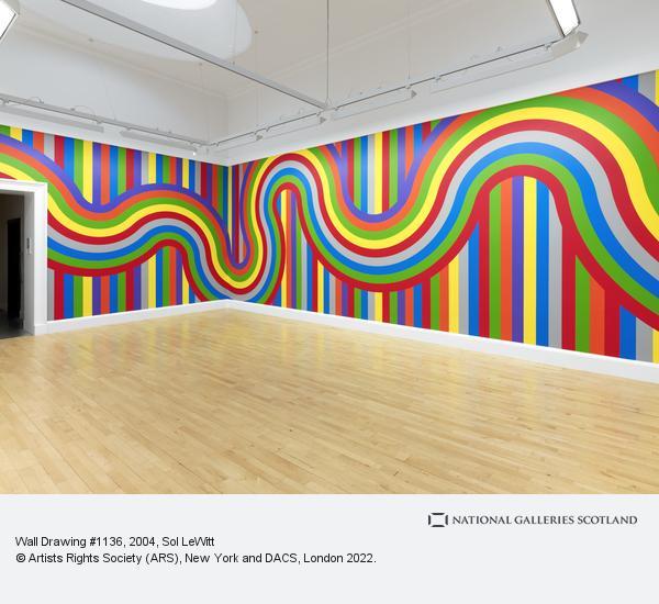 Sol LeWitt, Wall Drawing # 1136 (2004)