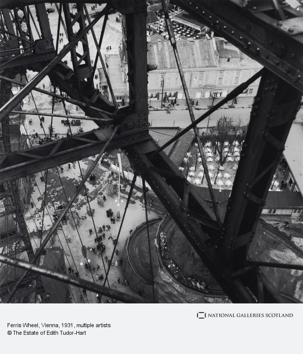 Edith Tudor-Hart, Untitled [Prater Ferris Wheel, Vienna] (About 1931 (negative))