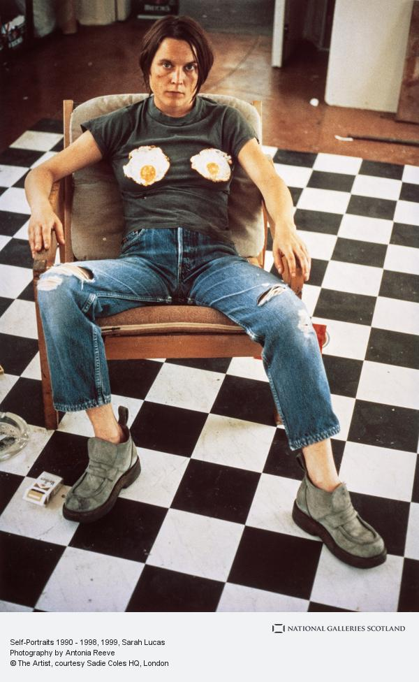 Sarah Lucas, Self-Portraits 1990 - 1998