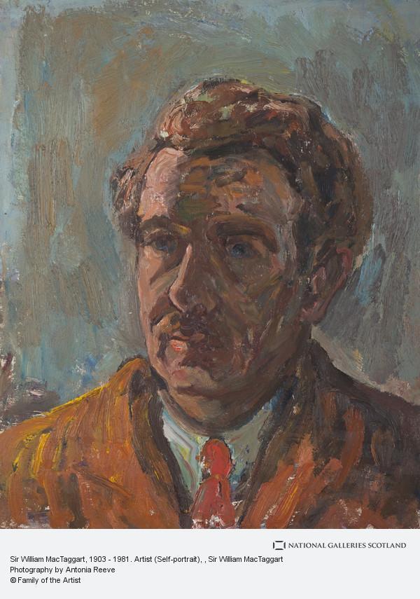 Sir William MacTaggart, Sir William MacTaggart, 1903 - 1981. Artist (Self-portrait)