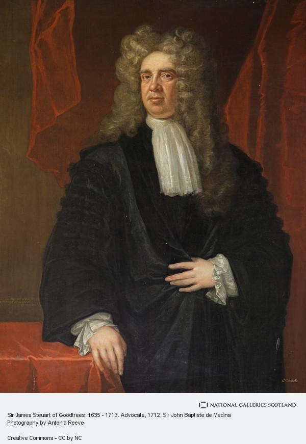 Sir John Baptiste de Medina, Sir James Steuart of Goodtrees, 1635 - 1713. Advocate
