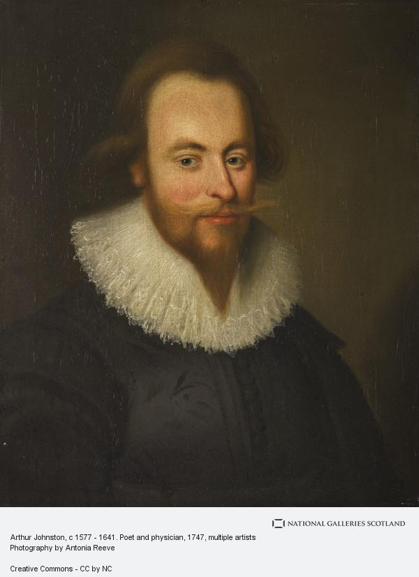 James Wales, Arthur Johnston, c 1577 - 1641. Poet and physician