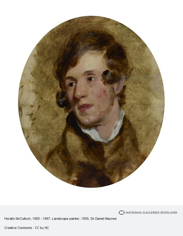 Sir Daniel Macnee, Horatio McCulloch, 1805 - 1867. Landscape painter
