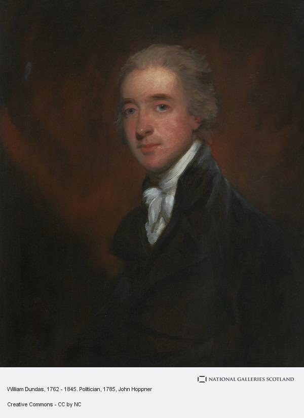 John Hoppner, William Dundas, 1762 - 1845. Politician