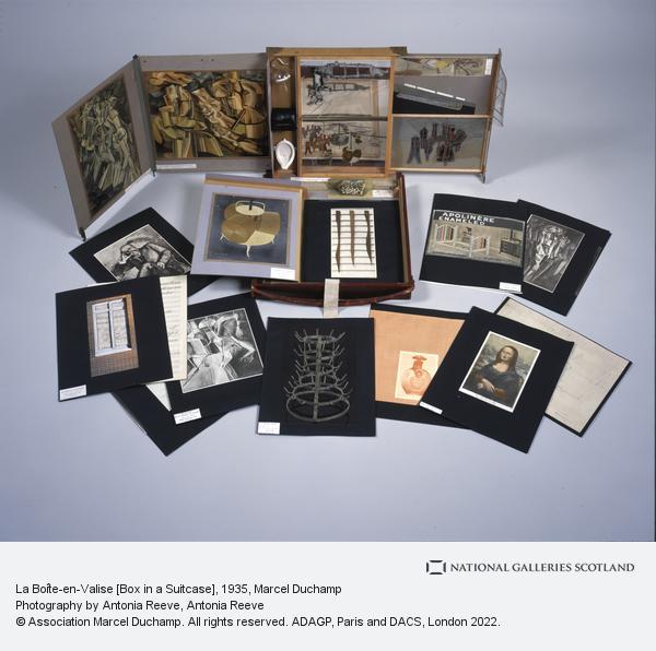 Marcel Duchamp, La Boîte-en-Valise [Box in a Suitcase] (1935 - 1941)