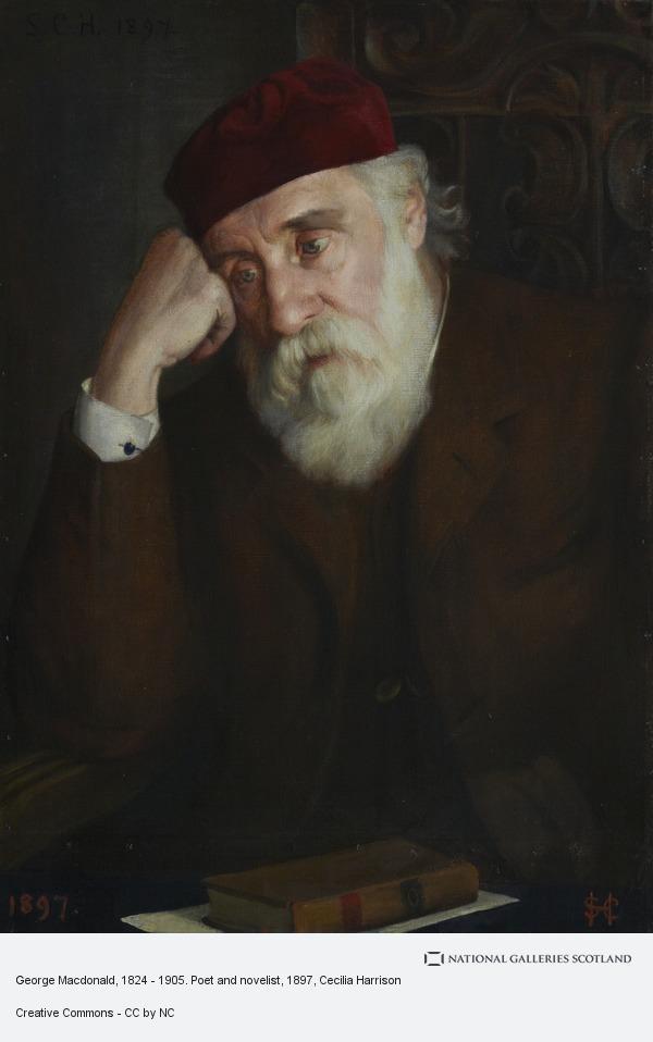 Cecilia Harrison, George Macdonald, 1824 - 1905. Poet and novelist