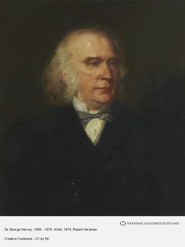 Robert Herdman, Sir George Harvey, 1806 - 1876. Artist