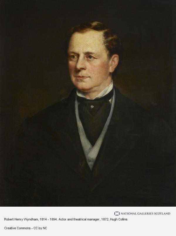 Hugh Collins, Robert Henry Wyndham, 1814 - 1894. Actor and theatrical manager