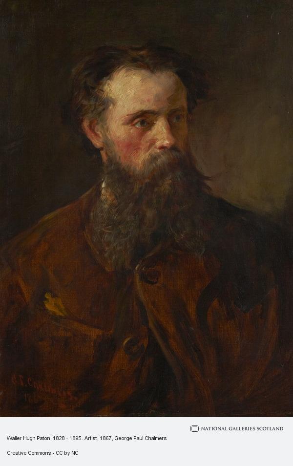 George Paul Chalmers, Waller Hugh Paton, 1828 - 1895. Artist