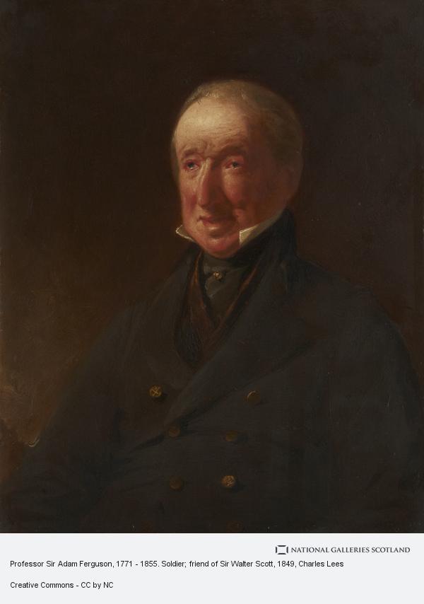 Charles Lees, Professor Sir Adam Ferguson, 1771 - 1855. Soldier; friend of Sir Walter Scott