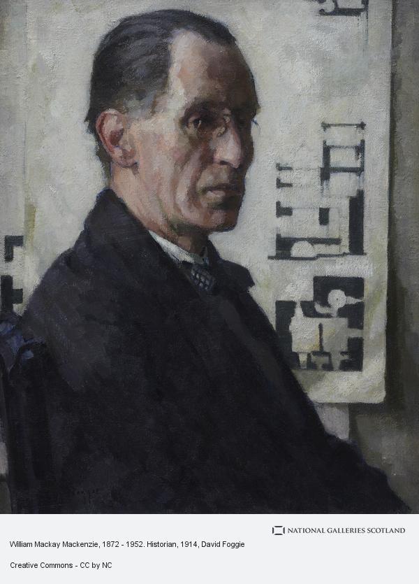David Foggie, William Mackay Mackenzie, 1872 - 1952. Historian