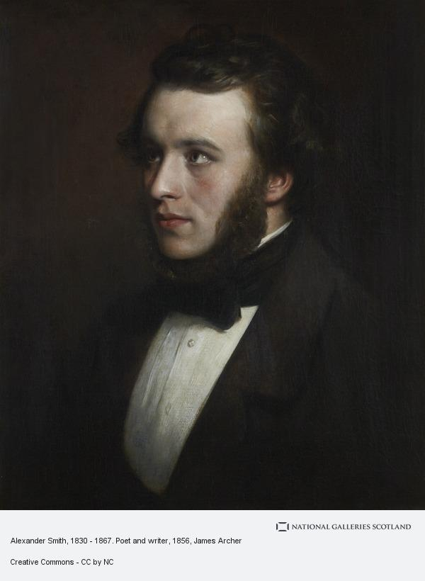 James Archer, Alexander Smith, 1830 - 1867. Poet and writer
