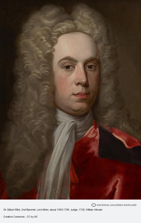 William Aikman, Sir Gilbert Elliot, 1st Lord Minto, 1693 - 1766.