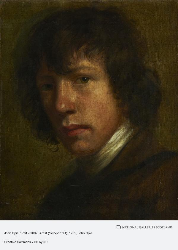 John Opie, John Opie, 1761 - 1807. Artist (Self-portrait)