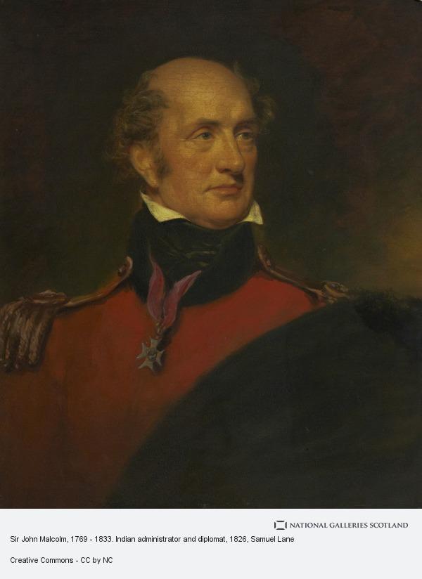 Samuel Lane, Sir John Malcolm, 1769 - 1833. Indian administrator and diplomat