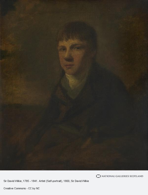 Sir David Wilkie, Sir David Wilkie, 1785 - 1841. Artist (Self-portrait)