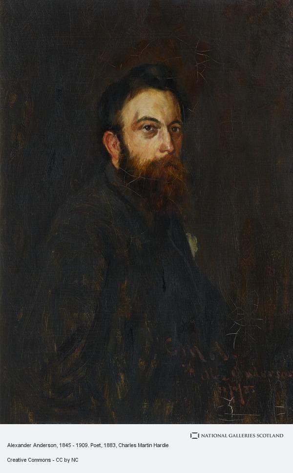 Charles Martin Hardie, Alexander Anderson, 1845 - 1909. Poet