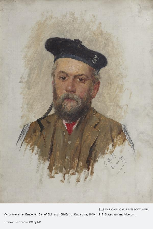 Charles Martin Hardie, Victor Alexander Bruce, 9th Earl of Elgin and 13th Earl of Kincardine, 1849 - 1917. Statesman and Viceroy of India