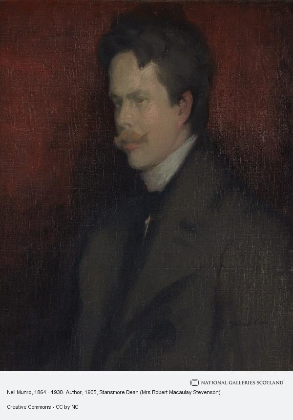 Stansmore Dean (Mrs Robert Macaulay Stevenson), Neil Munro, 1864 - 1930. Author