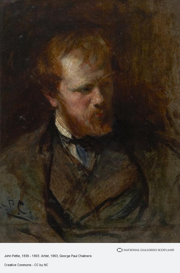 George Paul Chalmers, John Pettie, 1839 - 1893. Artist
