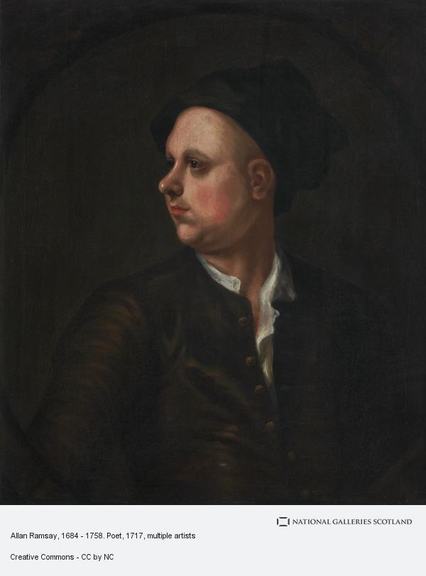 Unknown, Allan Ramsay, 1684 - 1758. Poet