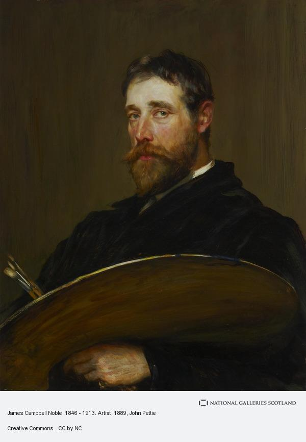 John Pettie, James Campbell Noble, 1846 - 1913. Artist