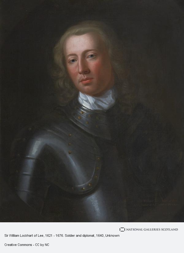 Unknown, Sir William Lockhart of Lee, 1621 - 1676. Soldier and diplomat