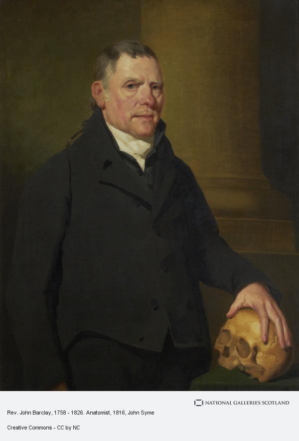 John Syme, Rev. John Barclay, 1758 - 1826. Anatomist