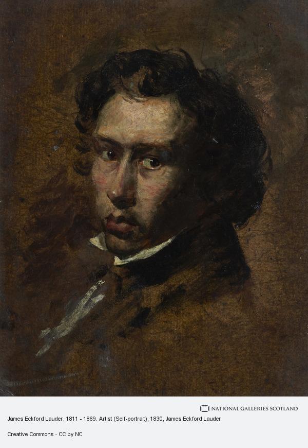James Eckford Lauder, James Eckford Lauder, 1811 - 1869. Artist (Self-portrait)