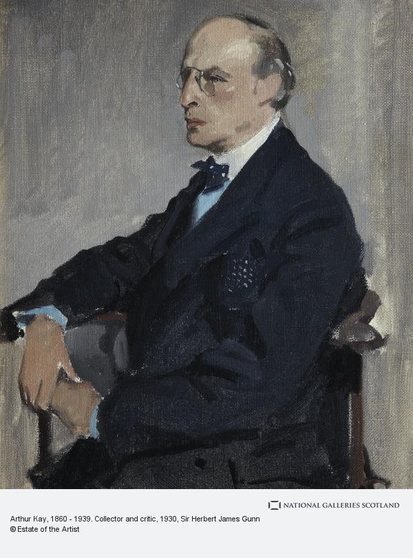 Sir Herbert James Gunn, Arthur Kay, 1860 - 1939. Collector and critic