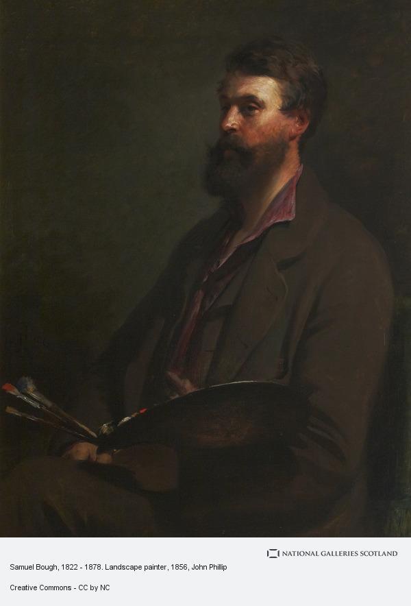 John Phillip, Samuel Bough, 1822 - 1878. Landscape painter