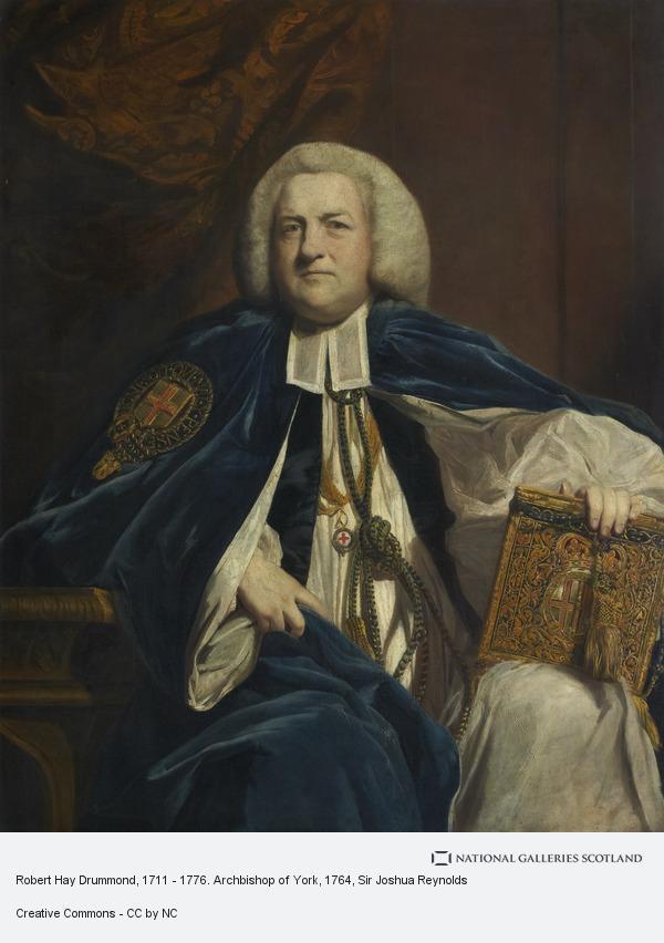 Sir Joshua Reynolds, Robert Hay Drummond, 1711 - 1776. Archbishop of York