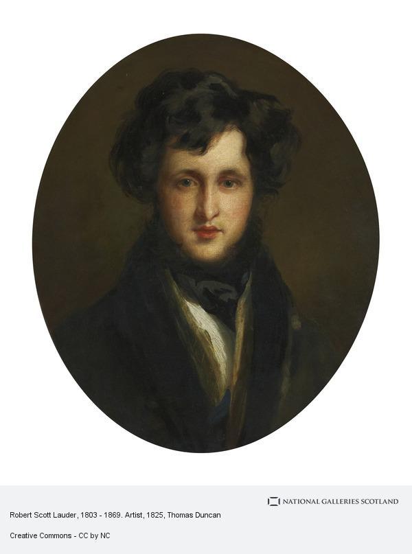 Thomas Duncan, Robert Scott Lauder, 1803 - 1869. Artist