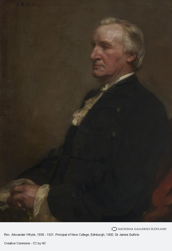 Sir James Guthrie, Rev. Alexander Whyte, 1836 - 1921. Principal of New College, Edinburgh