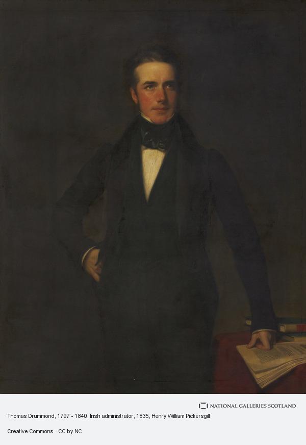 Henry William Pickersgill, Thomas Drummond, 1797 - 1840. Irish administrator