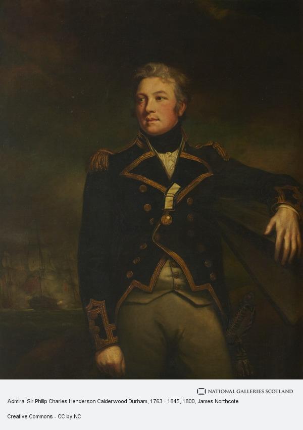 James Northcote, Admiral Sir Philip Charles Henderson Calderwood Durham, 1763 - 1845