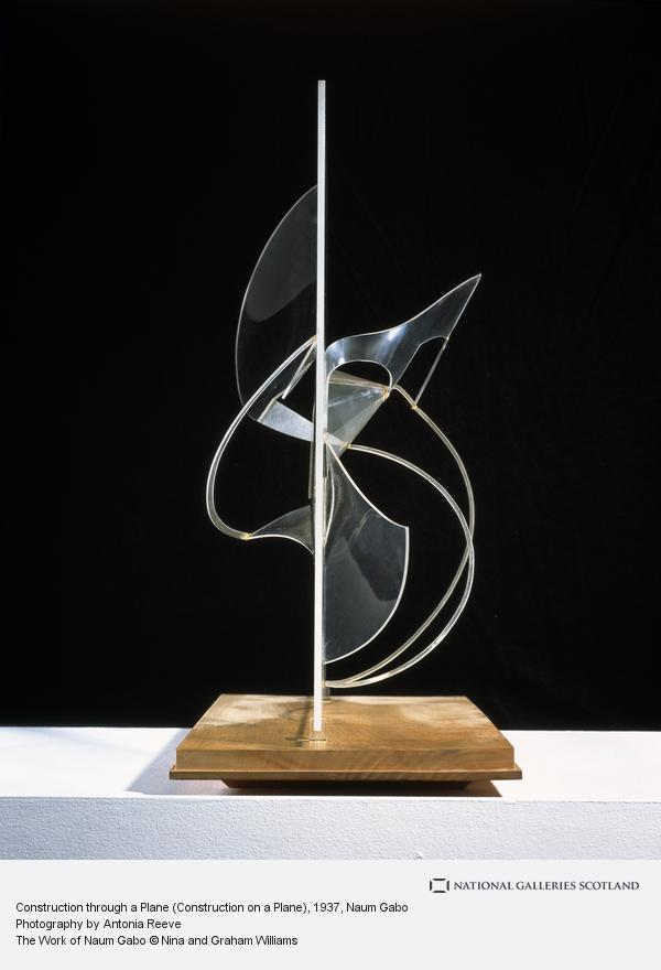 Naum Gabo, Construction through a Plane (Construction on a Plane)