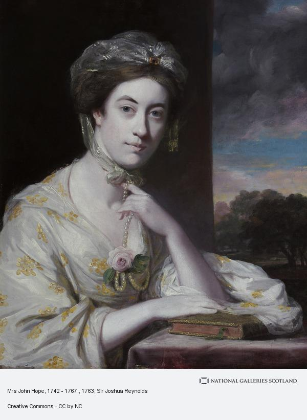 Sir Joshua Reynolds, Mrs John Hope, 1742 - 1767.