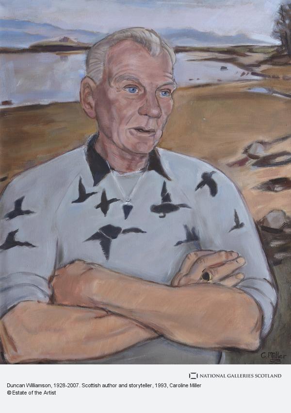 Caroline Miller, Duncan Williamson, 1928-2007. Scottish author and storyteller